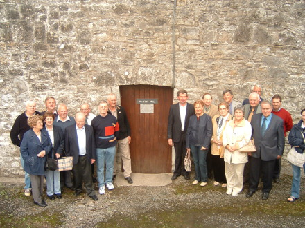 Every year in September the Society hires a minibus and they along with non-members take part in a very enjoyable outing to a place of heritage interest.